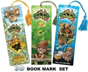 3D Bookmarks full Set Image