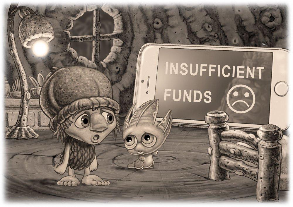 Mythic Australia Kip and Pip Insufficient Funds