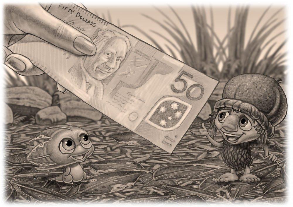 Mythic Australia Kip and Pip Reward