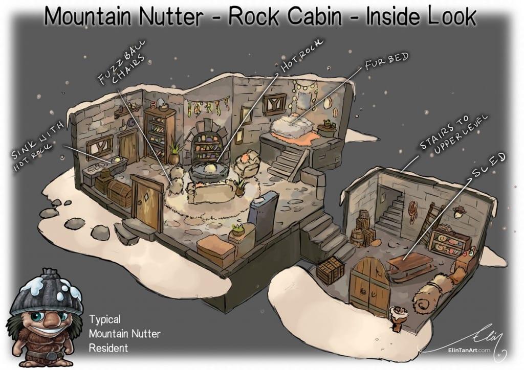 Mountain Nutter Rock Cabin Mythic Australia by Elin Tan