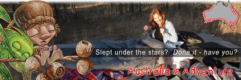 Mythic Australia, Camping, under the stars