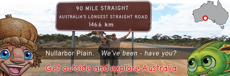 Mythic Australia, Nullarbor Plain
