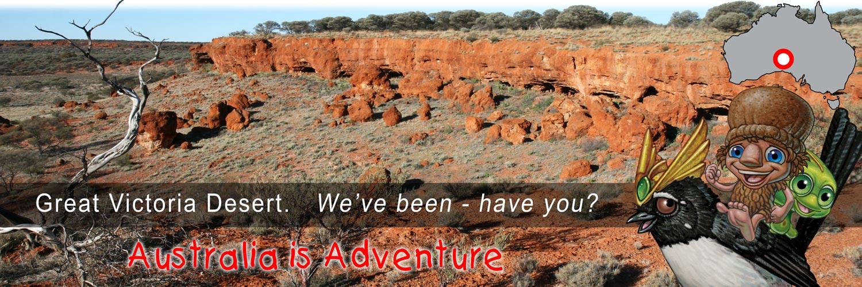 Mythic Australia, Victoria Desert