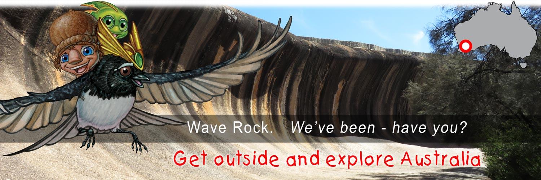 Mythic Australia, Wave Rock