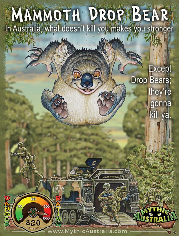 Mythic Australia Mammoth Drop Bear