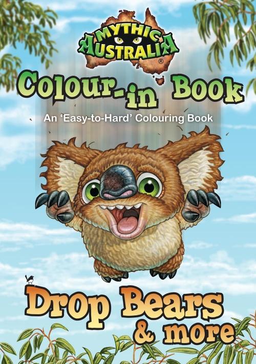 Mythic Australia Colour-in Book