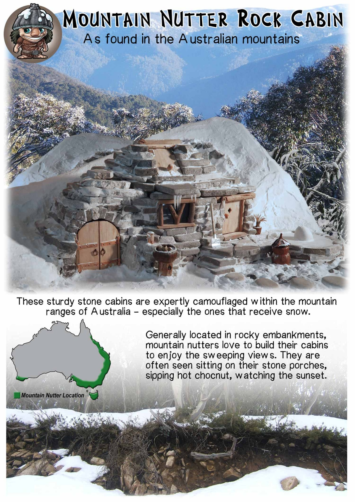 Mountain Cabin - Mythic Australia
