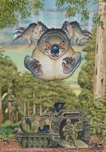 Mammoth-Drop-Bear-by-Ian-Coate