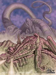 Mist-Dragon-Sleeping-by-Ian-Coate