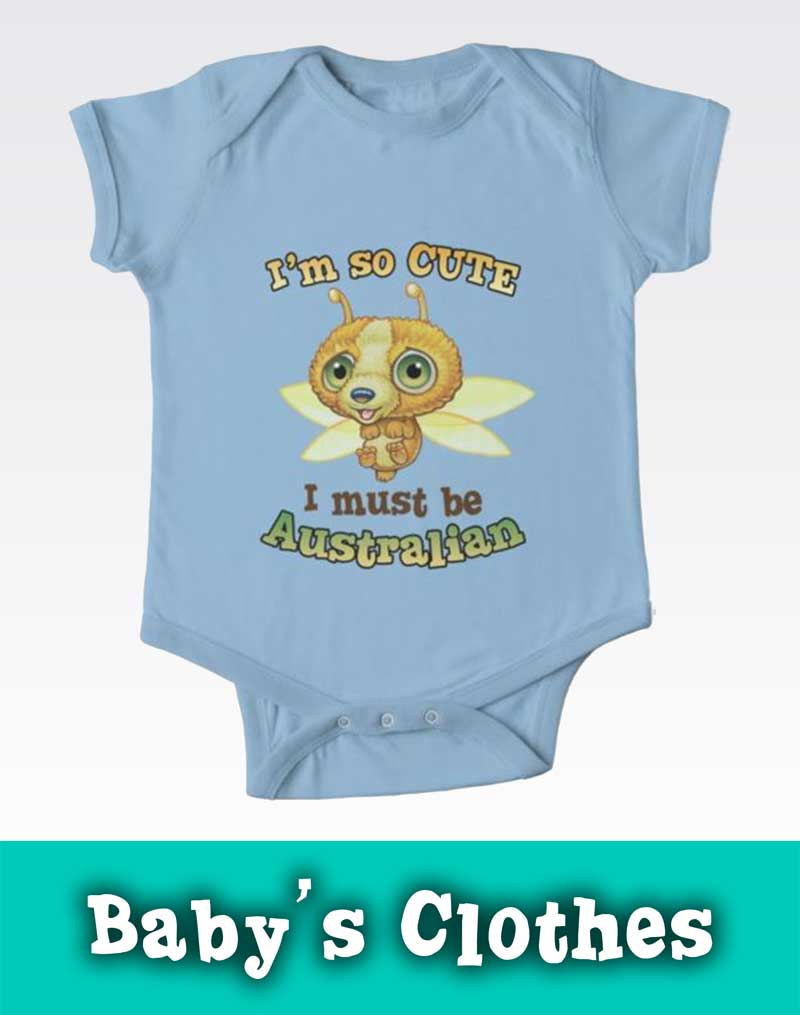 Mythic Australia Baby Clothes Redbubble