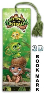 3D Bookmark Kip and Pip Image