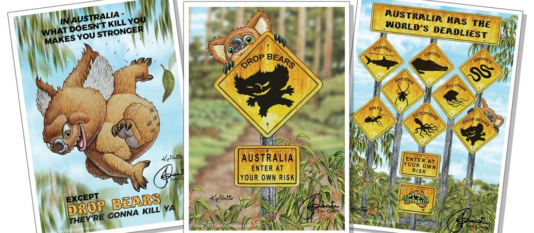 Mythic Australia Collectable prints