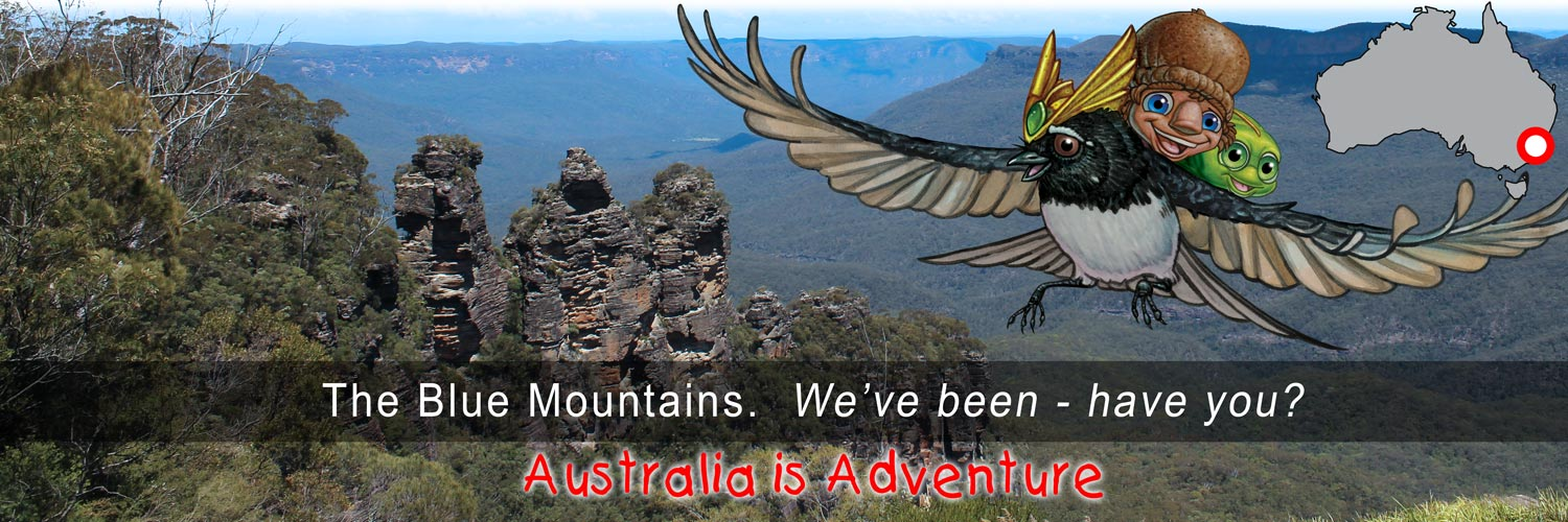 Mythic Australia, Blue Mountains