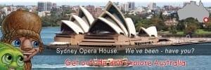 Mythic Australia, Sydney Opera House