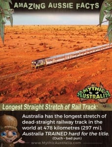 Aussie Facts Longest Straight Stretch of Rail Track