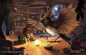 Mythic Australia Story time