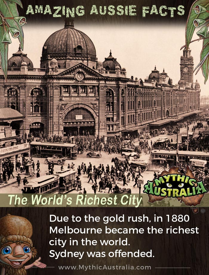 The worlds richest city mythic australia for Richest city in the us