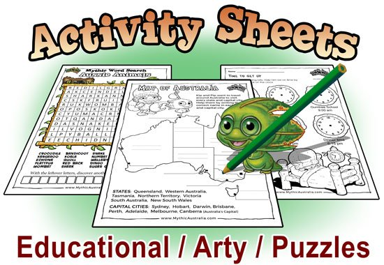Activity Sheets - Free Resources