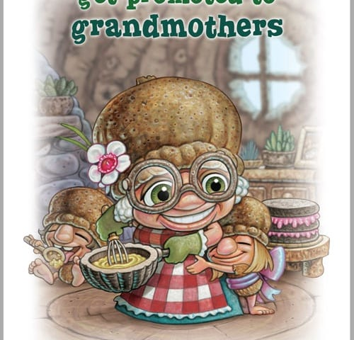 Print about grandmothers.