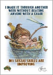 Old Nutter - Social Skills Image