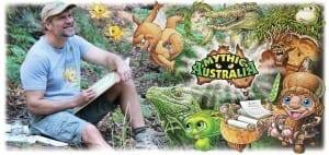 Creatures of mythic Australia, hoop snamesk, nutters