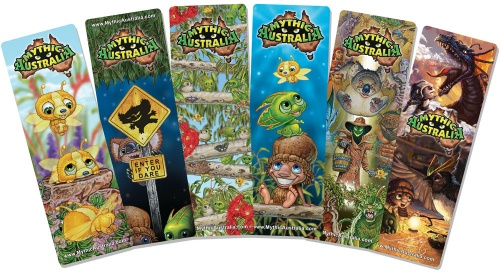 Mythic Australia Bookmarks