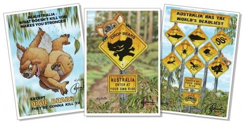 Mythic Australia Collectable prints