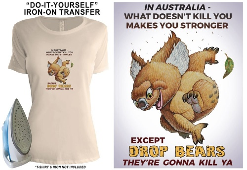 Drop-Bear-Tshirt-Transfer